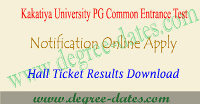 KU PGCET 2018 notification, online apply, hall ticket, results kucet