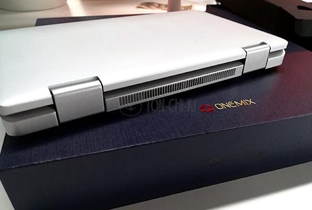 OneMix 2Sの背面