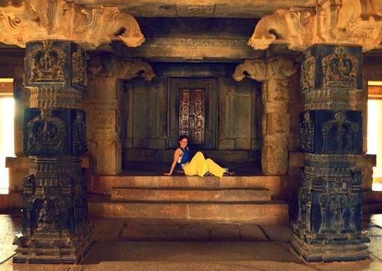 Imagen del Templo Vittala en Hampi