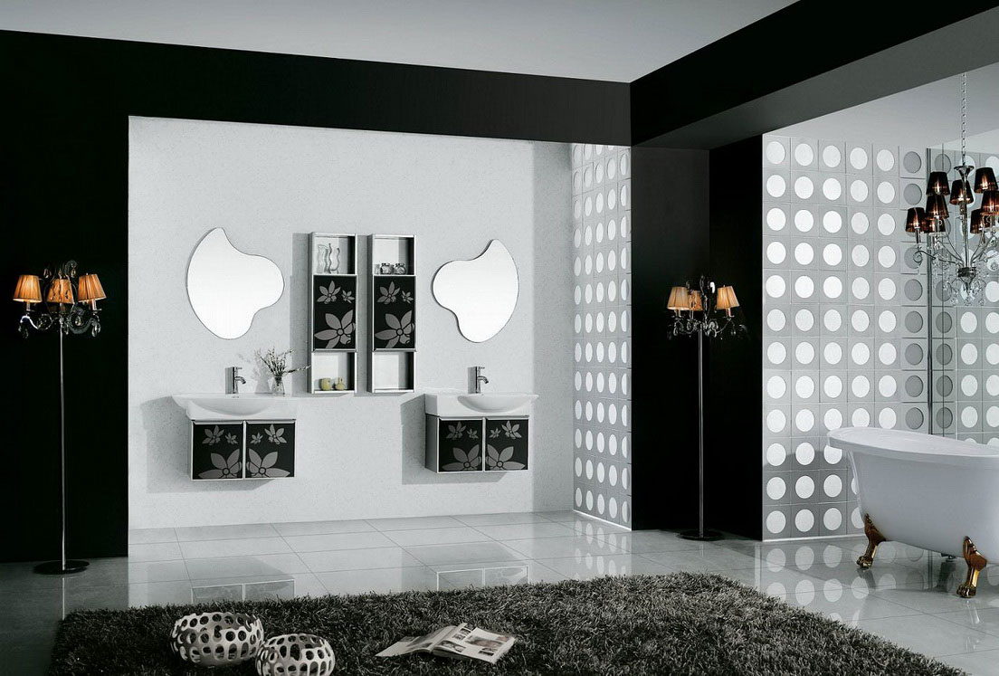 Tiny Apartment In Black And White Charms With Space Saving