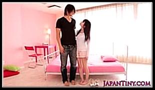 미소녀-키큰 오빠와 사이즈 맞춤섹스 유메노 아이카
