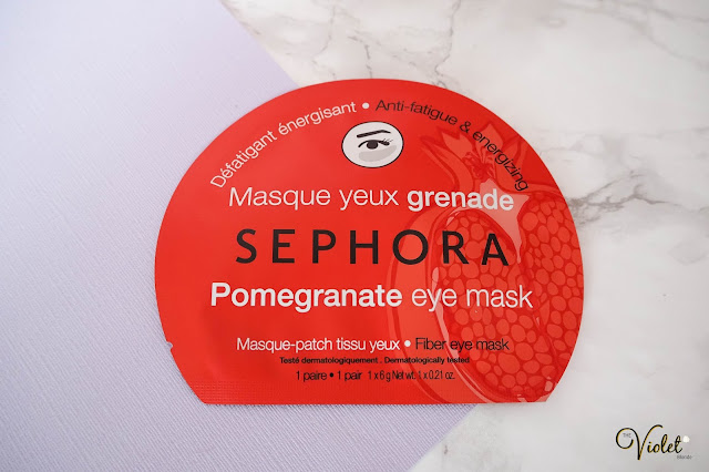 sephora pomegranate eye mask