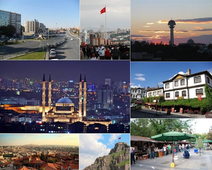 De paseo por la arquitectura de Ankara