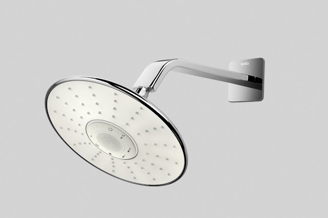 Luxury brand QUEO introduces shower for music lovers