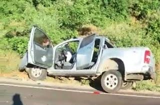 Advogado Brumadense em acidente na BA-148