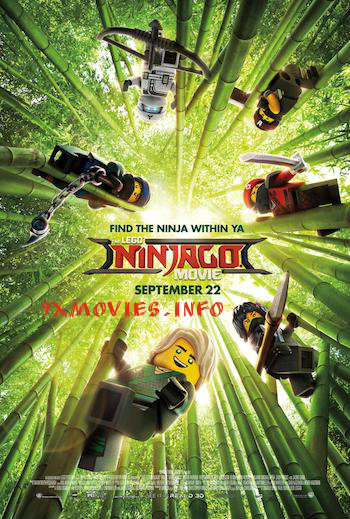 The Lego Ninjago Movie 2017 English 720p BRRip 950MB ESubs