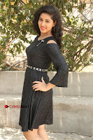 Telugu Actress Pavani Latest Pos in Black Short Dress at Smile Pictures Production No 1 Movie Opening  0197.JPG