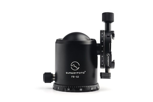 Sunwayfoto FB-52DDHi Ball Head drop notch