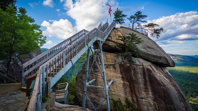 Chimney Rock State Park - Carolina do Norte