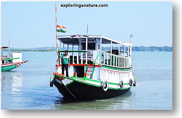 Boating at Sundarban National Park