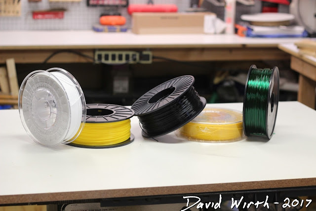 different 3d printer filament, explained, pla, abs, petg