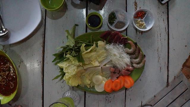 Menu Shabu Shabu di Pondok Cabe Idjo