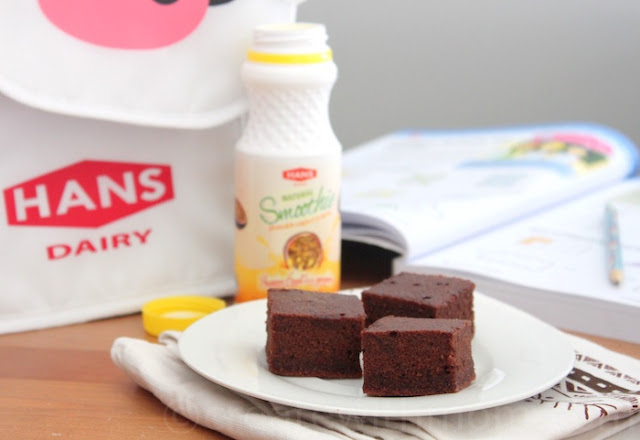 hans dairy yogurt brownie