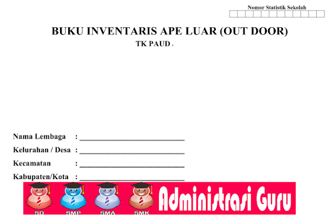 Download Format Laporan Invetaris Barang APE PAUD Out Door