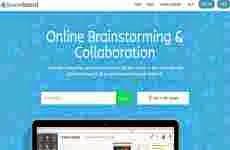 Stormboard: para realizar tormenta de ideas (brainstorming) online en forma colaborativa en tiempo real