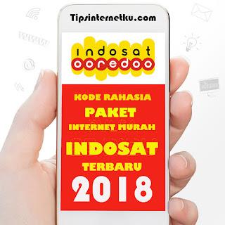 Daftar Kode Paket Internet Murah Indosat Ooredoo Terbaru 2018