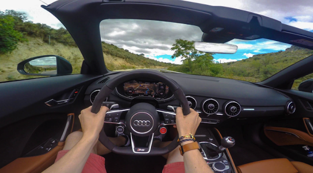 First Drive: 2017 Audi TT RS roadster Car and Driver Review