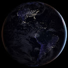 NASA Releases New 'Black Marble' Earth At Night Map