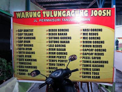 Warung Tulung Agung Pulau Bintan