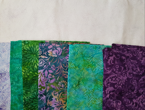Island Batik fabrics for Medallion Magic | DevotedQuilter.com