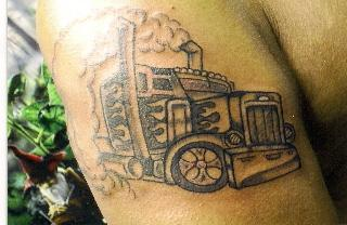 18 Wheel Beauties The Hunt For Big Rig Tattoos