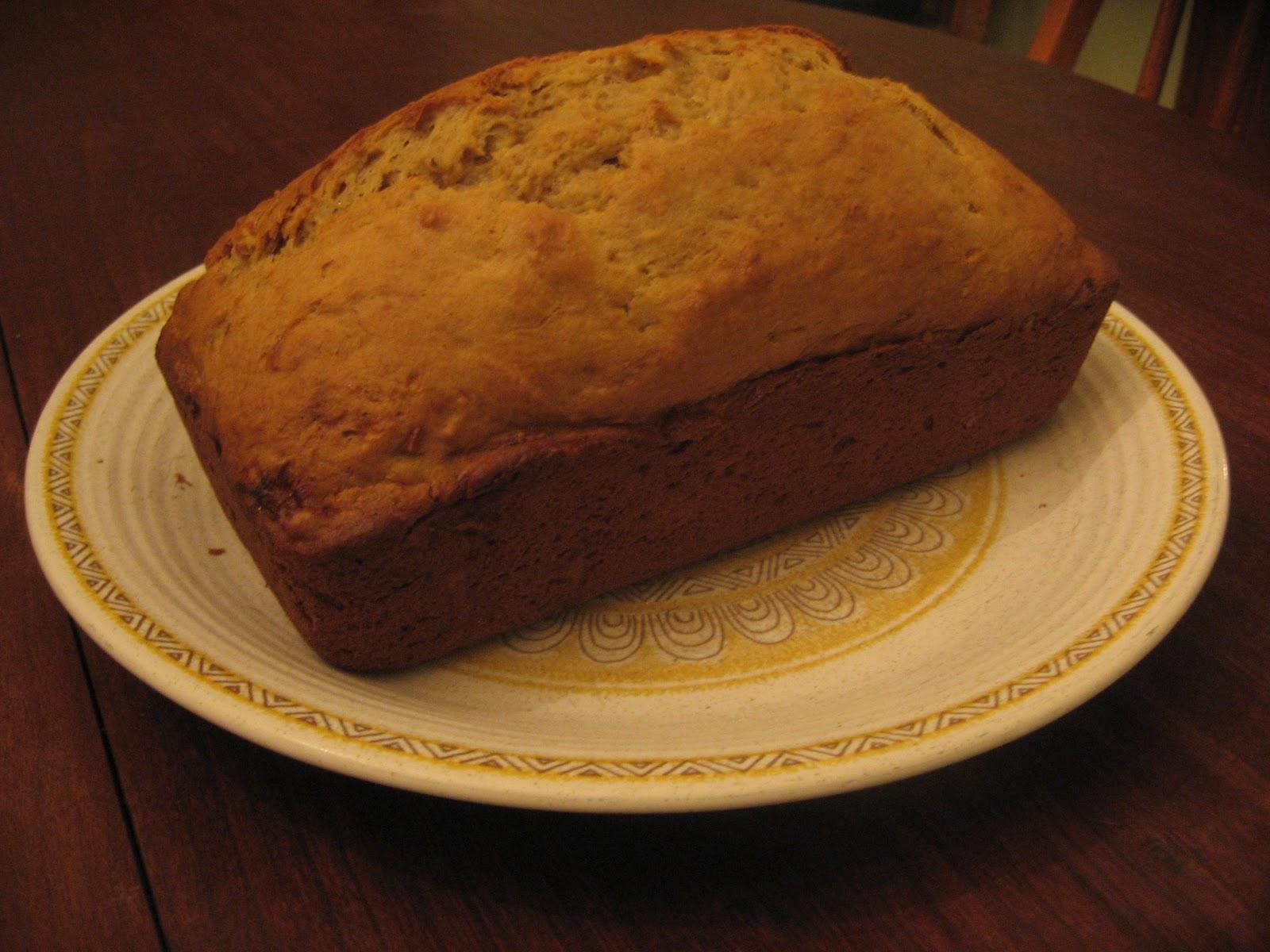 Happy Home: Simple Banana Bread recipe