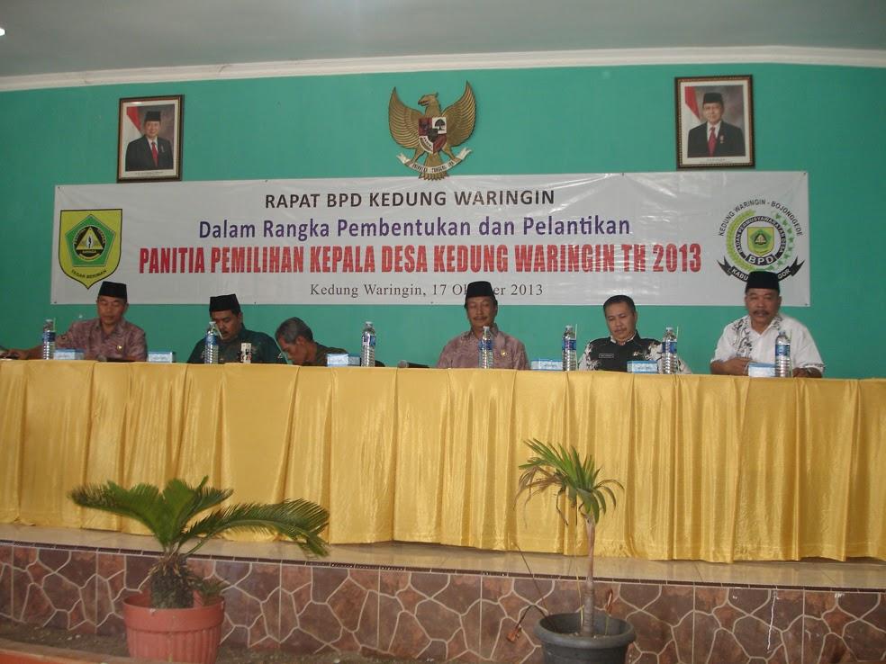 bpd bojonggede kabupaten bogor: RAPAT BPD KEDUNG WARINGIN