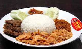 Nasi Sambal Udang Khas Surabaya