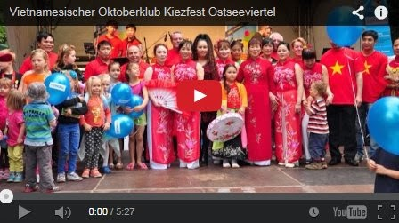 Film Oktoberklub beim Kiezfest Ostseeviertel
