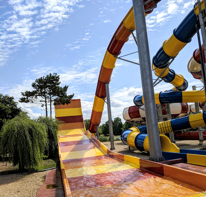 Holiday Ideas for Families with Tweens  - Toboggan Waterpark Vendee