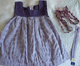 vauvan mekko duunaus ohje