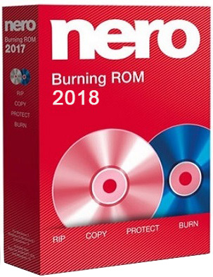 Nero Burning ROM 2018 19.0.00400 poster box cover