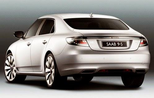 2015 Saab 9-5 Rear View