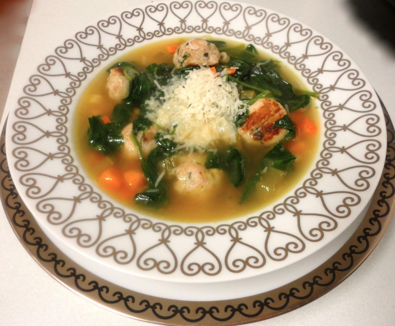 Ina Garten S Italian Wedding Soup And Her Recipe For En Stock C H E W I N G T F A