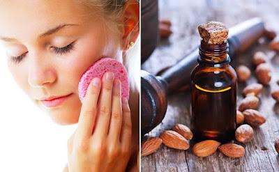 Comment enlever le maquillage avec de l'huile d'amande naturelle