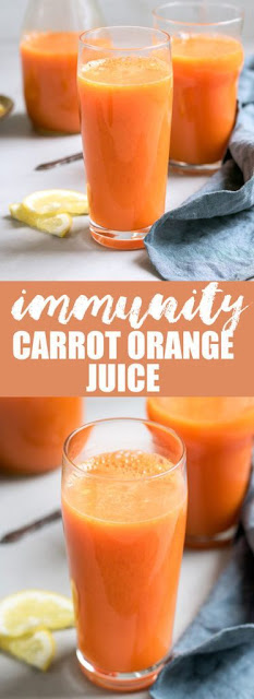 Immunity Boosting Carrot Orange Juice