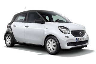 Smart ForFour Pure (2017) Front Side