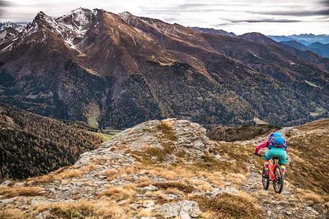 Flowiger Trail für Biker