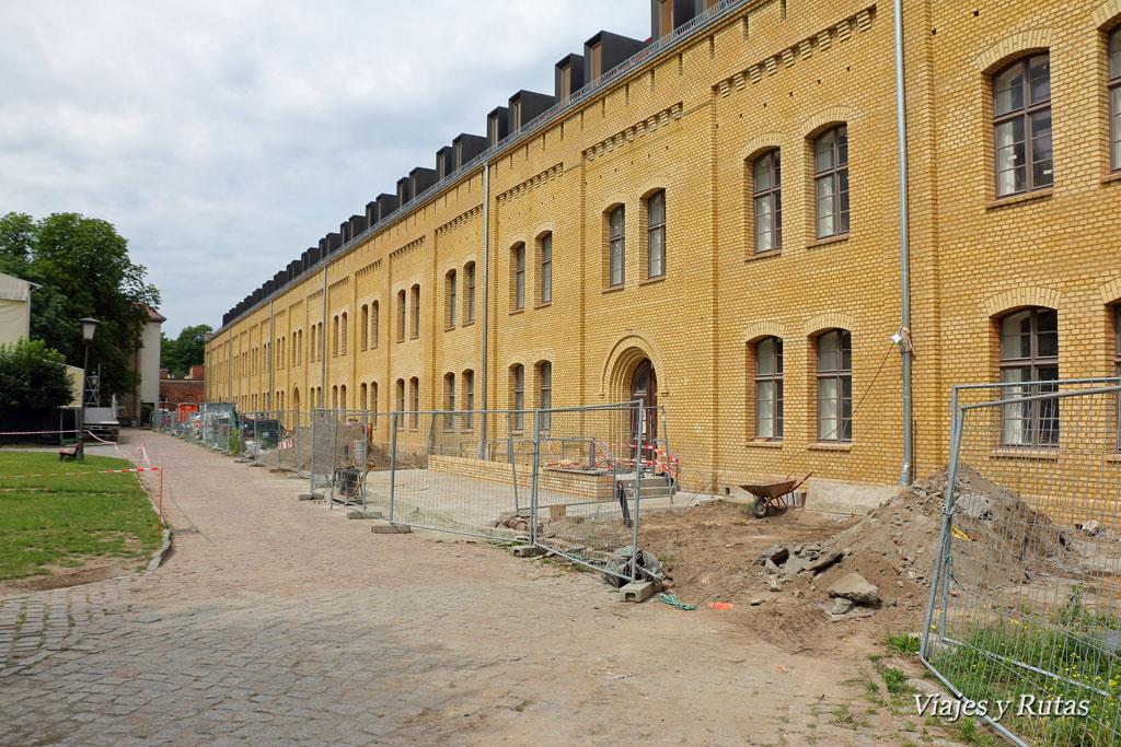 Obras en las dependencias de la ciudadela de Spandau