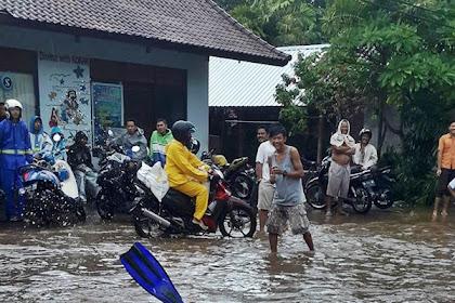 Hujan Seharian, Membuat Banjir dan Tempat Snorkling Baru di Pemuteran