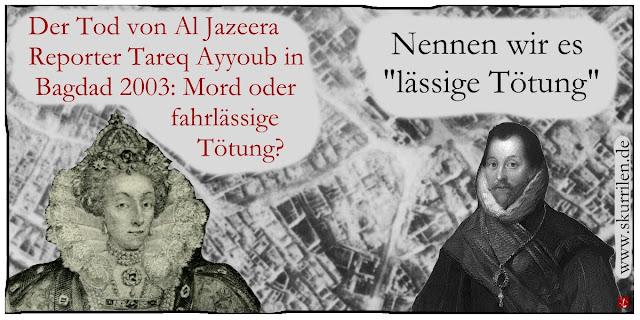 USA gegen Pressefreiheit Journalist Tareq Ayyoub Bagdad 2003 Irak Gewalt gegen TV-Sender