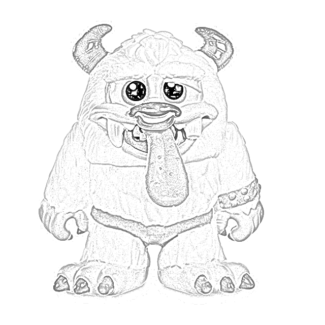 The Holiday Site: Crate Creatures Coloring Pages Free and
