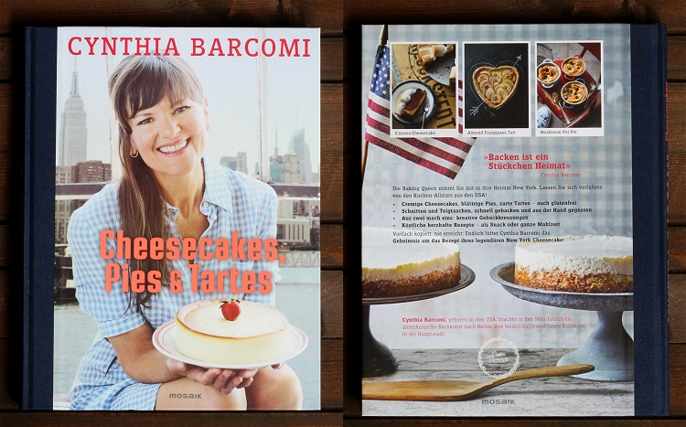 Rezension/Buchvorstellung Cynthia Barcomi - Cheesecakes, Pies & Tartes