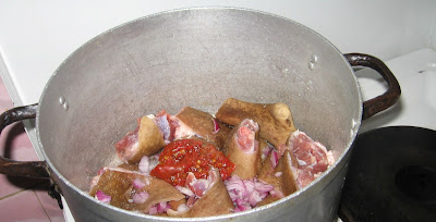 Cooking egusi (melon) soup with step by step photos