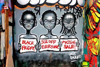 Sunday Street Art : Lolie Darko - rue Dénoyez - Paris 20