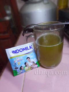 siapkan susu kental manis