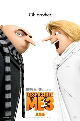 Download Despicable Me 3(2017) in Hd Hindi Dubbed