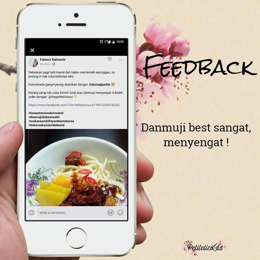 spicy kimchi, danmuji, the petitelicious, resepi sedap kimchi, kimchi sedap, food review,