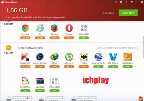 Tải Clean Master Cho PC, Laptop Windows 7, 8, 8.1, 10 XP miễn phí a