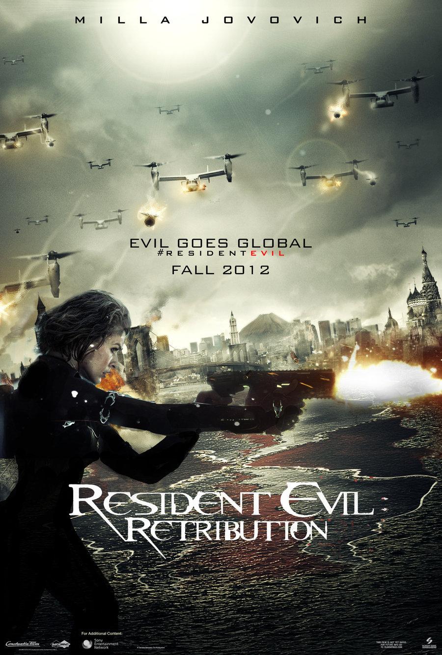 Random Reviews Diligently Drafted: Resident Evil: Retribution